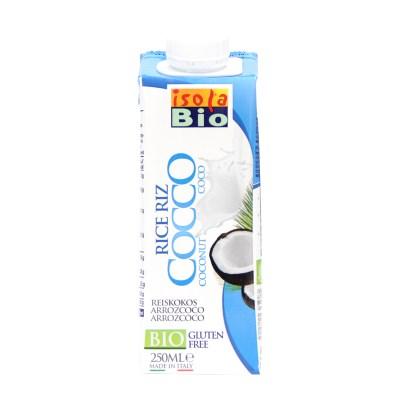 [이솔라비오] 유기농 쌀 코코넛 음료 (250ml)
