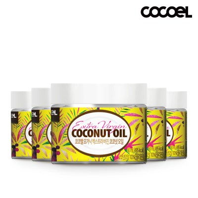 [코코엘] 오가닉 엑스트라버진 코코넛오일(60ml) 5병