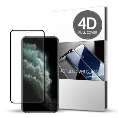 스킨즈 아이폰11 4D 풀커버 강화유리 필름 (1장)_(901085515)