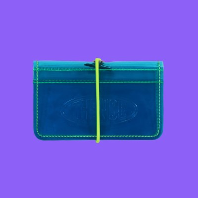 BAND CARD WALLET_CCN_NEON BLUE