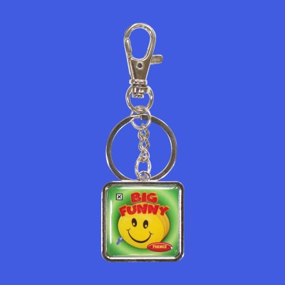 METAL KEY HOLDER_BIG FUNNY
