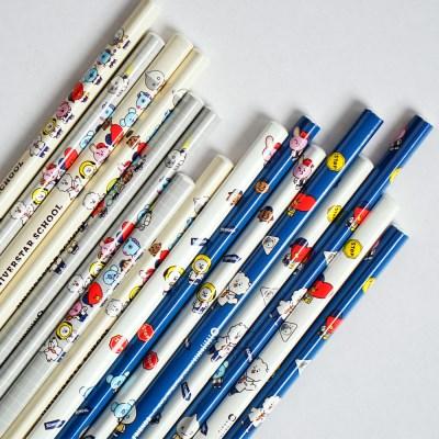 BT21 삼각8본연필