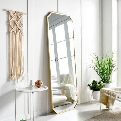 골드 대형 스탠드 전신거울 인테리어 거울 1700_(1335964)