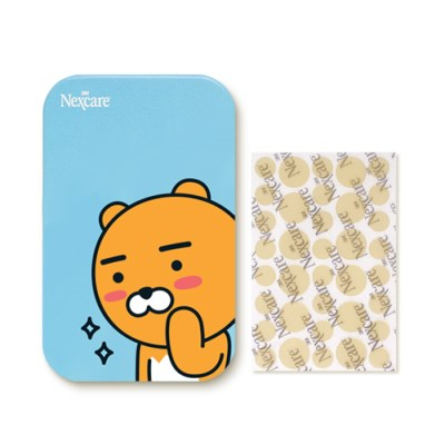 3M 넥스케어 카카오 블레미쉬 클리어 커버 라이언 틴케이스 포함