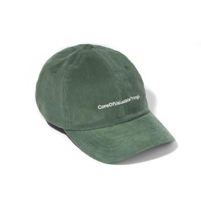 CORDUROY CORE CURVED CAP-GREEN 12/20 예약배송