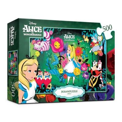 [Disney] 디즈니 이상한 나라의 앨리스 직소퍼즐(500피_(1434640)