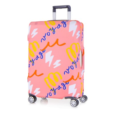 [Travel Mate] Voyage 캐리어커버 - 보야지 핑크