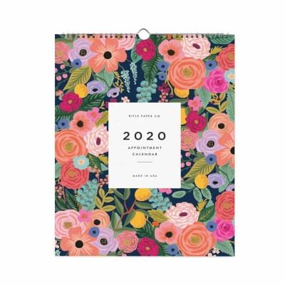 2020 Garden Blooms Appointment Calendar