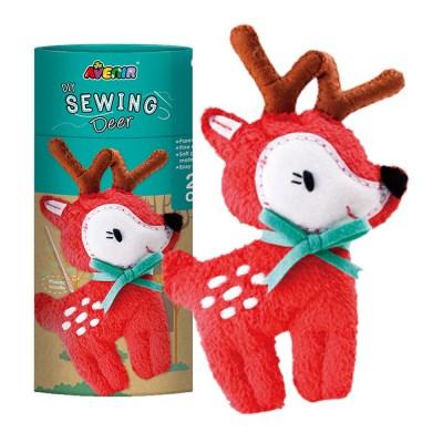 에비니어 DIY 애착 인형 만들기 사슴 취미 태교 바느질 놀이