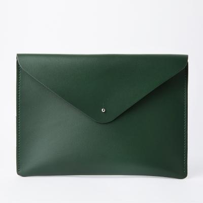 Envelope Clutch in Racing Green