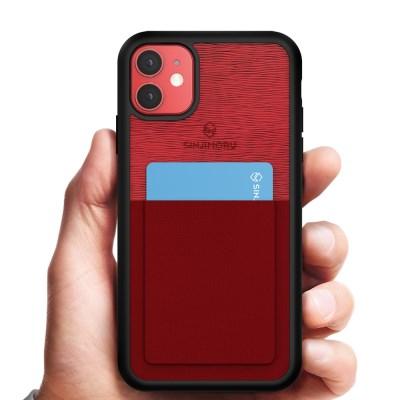 신지파우치 아이폰11 핸드폰 카드 케이스