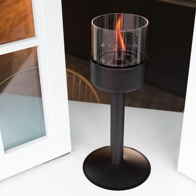 러빈플레임 친환경 글라스 캔들램프 (촛대 2set)