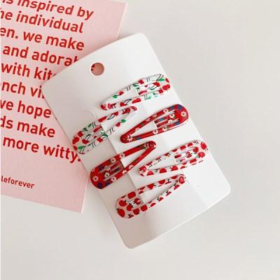 Red Pattern Pins 레드패턴핀