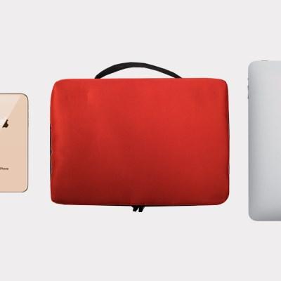 4S 아이패드 클러치백 파우치 RED (11인치)