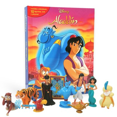 My Busy Books : Disney Aladdin 피규어북
