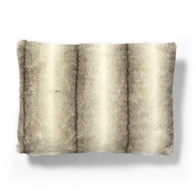 콘템프 퍼 쿠션커버 브라운 직사각(50x30)