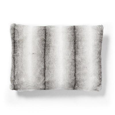 콘템프 퍼 쿠션커버 화이트 직사각(50x30)
