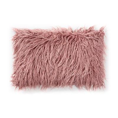 브루드 퍼 쿠션커버 핑크 직사각(50x30)