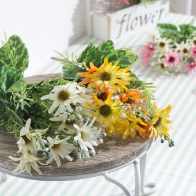 베리데이지부쉬 34cm  FAIAFT 조화 꽃 인테리어소품_(1511179)
