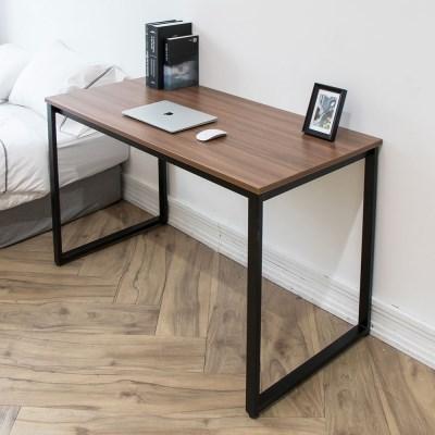 디어 스칸월넛 1200 입식 컴퓨터 책상 네모 블 /테이블