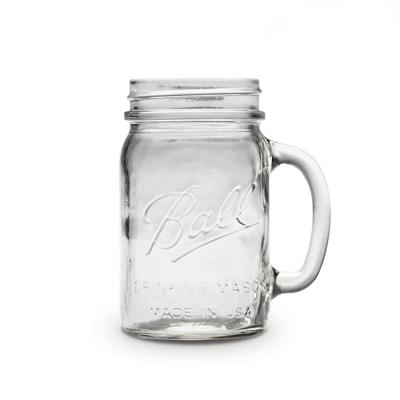 레귤러마우스 드링킹자 473ml 16oz Drinking jar