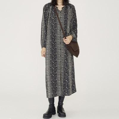 [dress] 페이즐리 폴 원피스_(1355734)