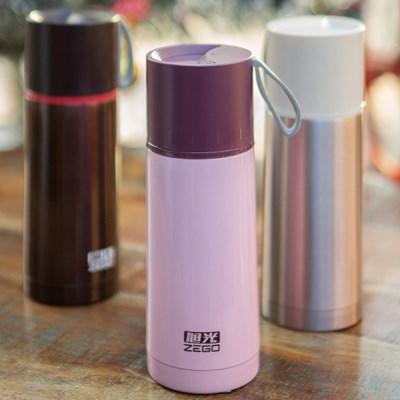 뚜껑컵 보온병(350ml)(컬러선택) / 원터치 보냉 보온 보틀 텀블러
