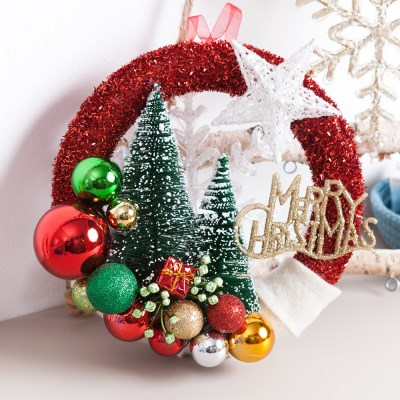 그린 솔트리 볼링 24cmP 트리 크리스마스 장식 TROMCG_(1503249)