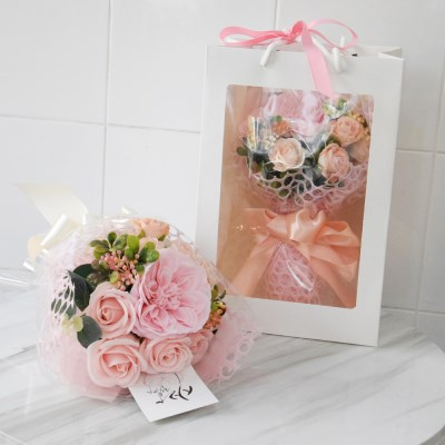 여자친구선물 러블리한 오스카장미 비누꽃다발