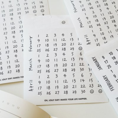 O,LD! Calendar Stickers