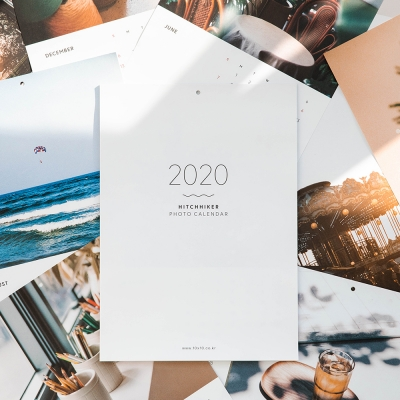 HITCHHIKER 2020 photo calendar