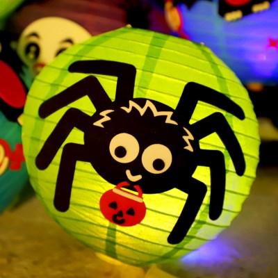 할로윈 LED 장식등 만들기 DIY세트 (거미)_(301758383)