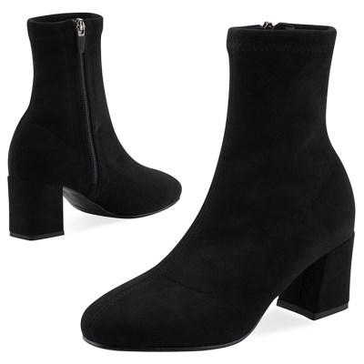 SPUR[스퍼] 삭스부츠 OF9039 Favorite socks boots 블랙