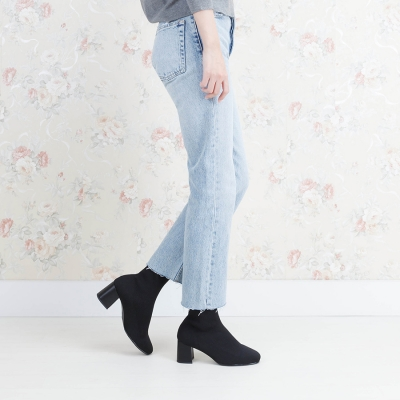 SPUR[스퍼] 삭스부츠 OF8050 Knit socks boots 블랙