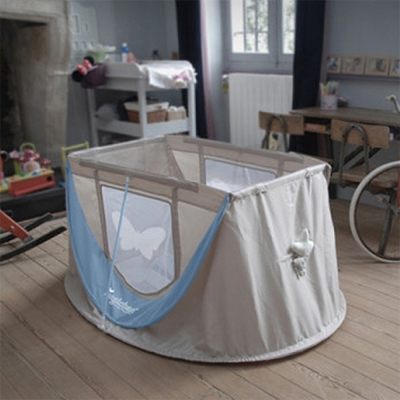 프랑스 감성의 휴대용 아기침대 접이식침대