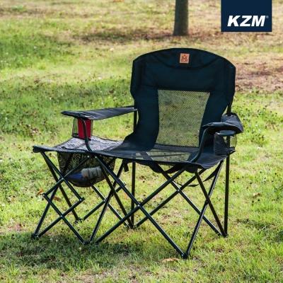 카즈미 베어 체어 K20T1C001 / 감성 캠핑의자 낚시의자 컵홀더