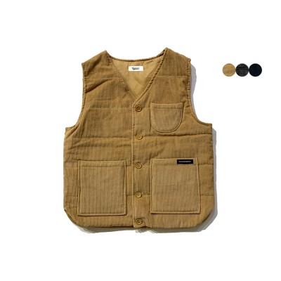 코듀로이 패딩 베스트 Corduroy Padding Vest(2color)