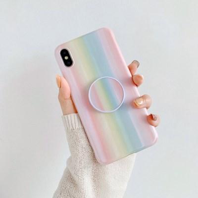 홀로그램 프리즘 화이트 스마트톡 아이폰 케이스