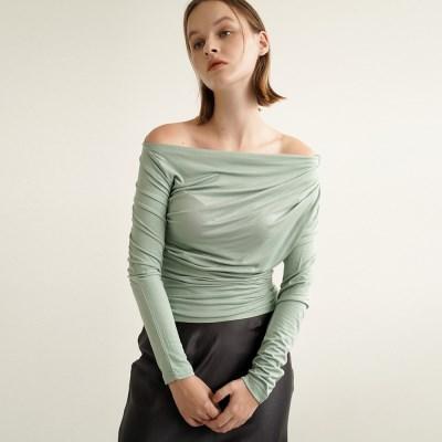 Rosen Drape Long Sleeve_Mint_(17075)