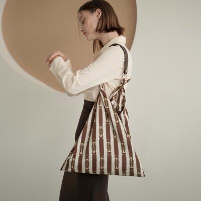 Jude Brown Belt Scarf Bag_(17062)