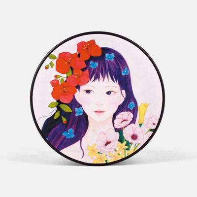 동양화 꽃소녀 퍼퓸 예쁜 스마트톡