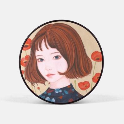 동양화 예쁜 꽃소녀 스마트톡