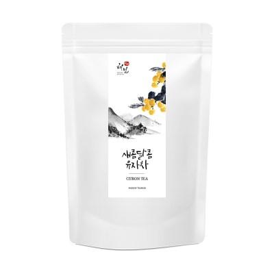 [해밀] 국내산 전통 새콤달콤 유자차 25개입 x 3팩_(1401121)
