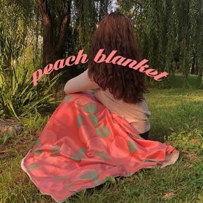 [뮤즈무드] peach blanket