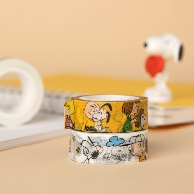 [Peanuts] 마스킹테이프_스누피와 친구들(2종)