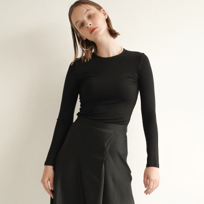 Ella Long Sleeve T-Shirts_Black_(17050)