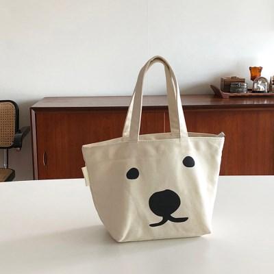[폴라앳홈] 북극곰 시리즈 에코 도시락 가방 (보냉가방)