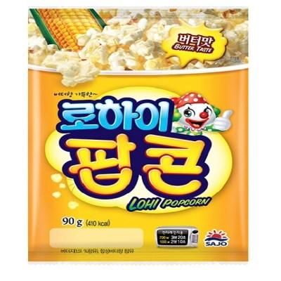 사조 전자렌지3분OK 팝콘버터맛90gx12봉