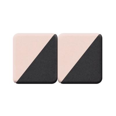 고품질 삼각 조각퍼프 메이크업 스폰지 4조각