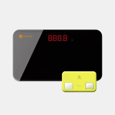 휴대용체지방측정기 지헬스카드+지그램 SBS좋은아침방영